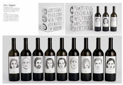 etiquette de vin valeur