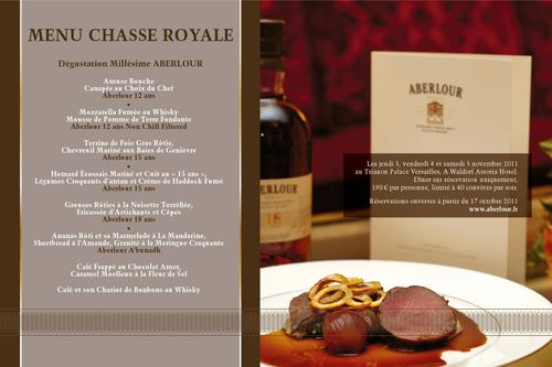 SOWINE_Menu_Aberlour_Hunting_Club